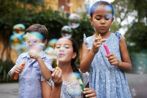 August weekday events kids bubbles DP