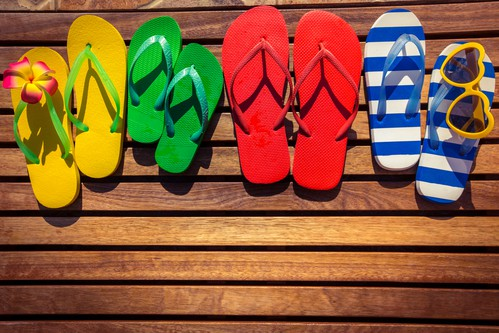 August weekend events flip flops DP