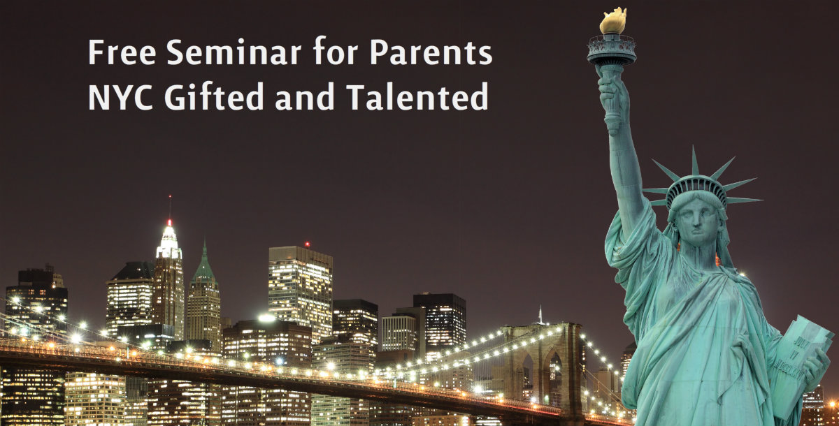 NYC Gifted and Talented Seminar at CAI Center (sponsored)